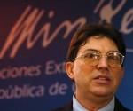 Canciller Bruno Rodríguez Parilla