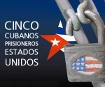 Cinco héroes cubanos prisioneros del imperio