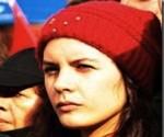 La présidente de la Fédération des Etudiants du Chili, Camila Vallejo