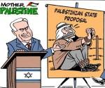 """""""Proposition d'Etat palestinien"""", par Carlos Latuff"""
