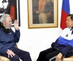 Fidel y Chavez