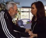 Fidel y Cristina