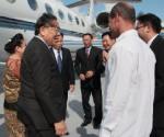 Presidente Laos Cuba