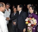 Presidente Viet Nam llega