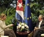 Raul y Federica union europea