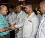 LA HABANA-PARTIRÁ BRIGADA CUBANA EN AYUDA A LOS DAMNIFICADOS DEL TERREMOTO EN ECUADOR