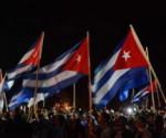 Cuba banderas  villa clara Che