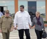 Raul despide Maduro