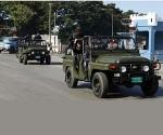 FOTO VIEJA POLICIA CUBA