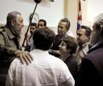 Fidel artistas escritores