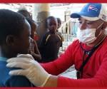 Medicos cubanos niños