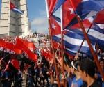 Cuba plaza pueblo