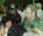 Fidel biblioteca nacional